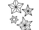 Dibujo de Copos de nieve para colorear