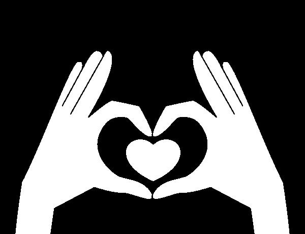 Corazon Silueta Para Colorear Fondos De Pantalla