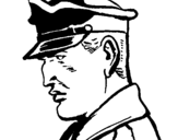 Dibujo de Coronel para colorear