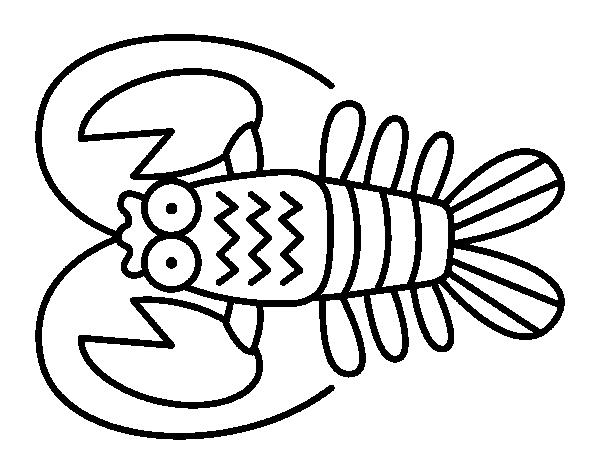 Dibujos De Cangrejos Para Colorear Dibujos Net
