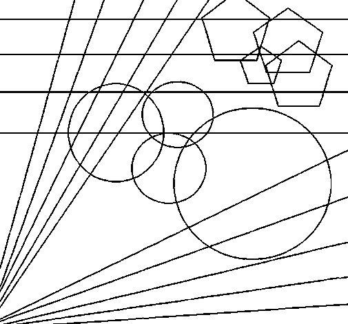Dibujo de Cuadro abstracto para Colorear