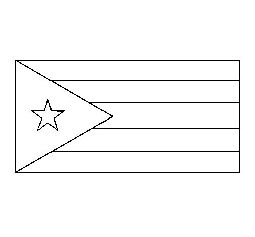 Dibujo de Cuba para Colorear