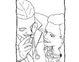 Dibujo de Diagnóstico para colorear
