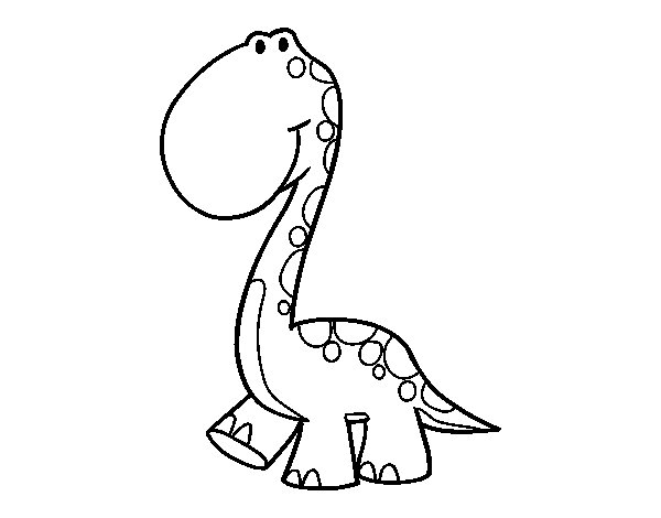 Dibujo de Dino para Colorear