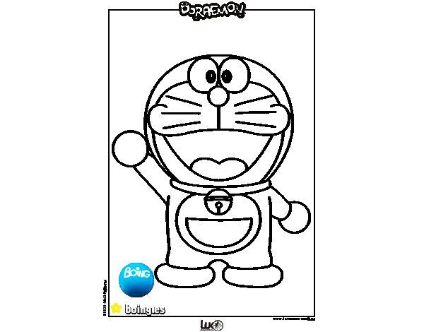 Dibujo de Doraemon para Colorear