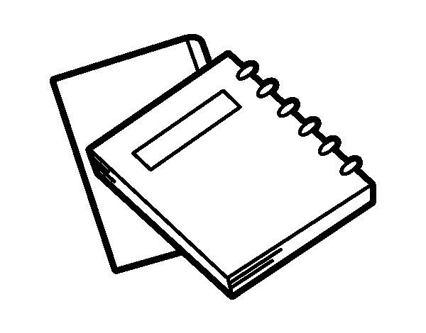 Dibujo de Dossiers educativos para Colorear