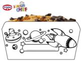 Dibujo de Dr Oetker Junior Chef Molde el espacio