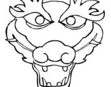 Dibujo de Dragón 5 para colorear
