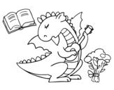 Dibujo de Dragón poeta