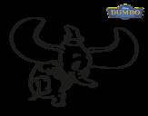 Dibujo de Dumbo para colorear