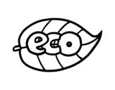 Dibujo de ECO para colorear