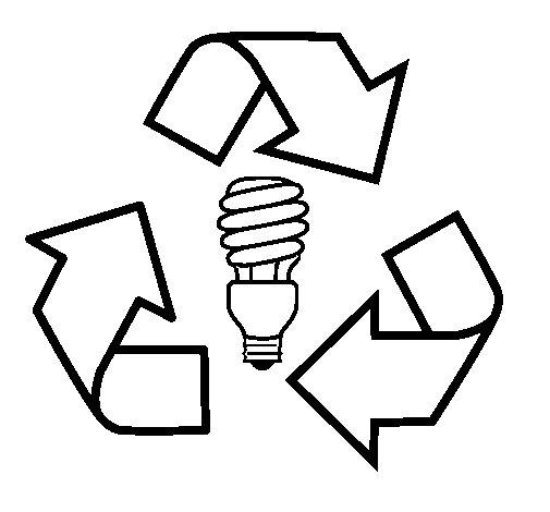 Dibujo de Ecología eléctrica para Colorear