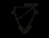 Dibujo de Escudo del Athletic Club de Bilbao para colorear