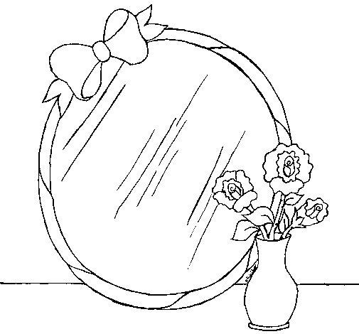 Dibujo de Espejo para Colorear