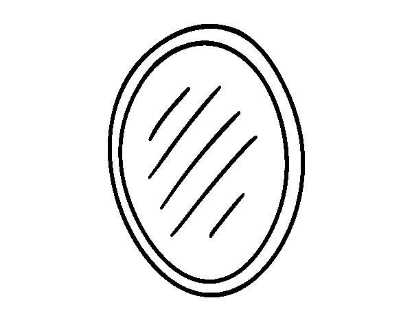 Dibujo de espejo de ba o para colorear for Imagenes de taza de bano para colorear