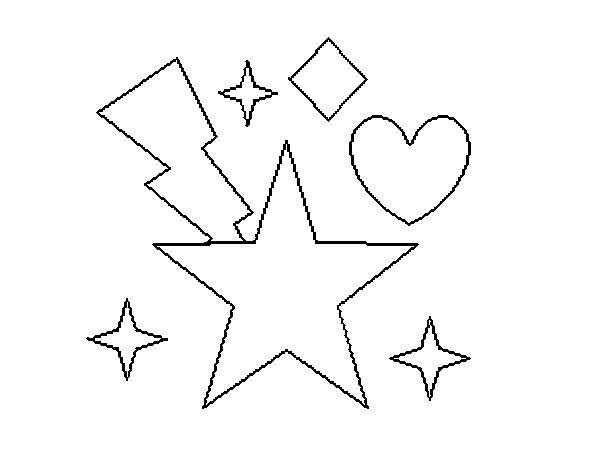 Dibujo de Estrellatico 2 para Colorear
