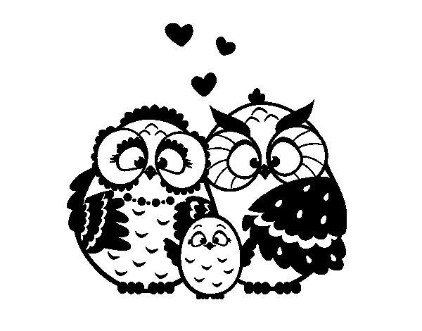 Dibujo de Familia bho para Colorear  Dibujosnet