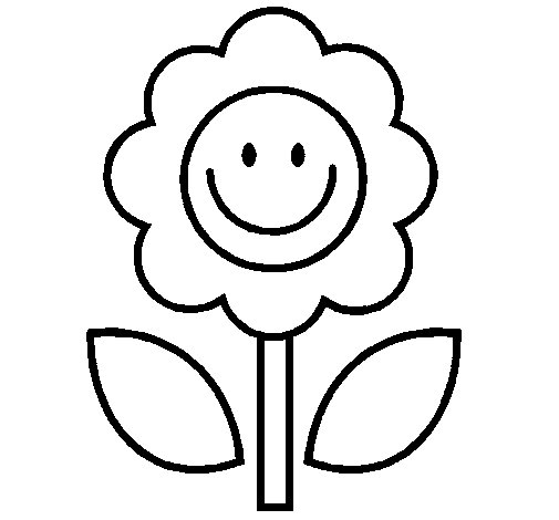 Dibujo de Flor 2 para Colorear - Dibujos.net