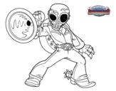 Dibujo de Frightful Fiesta