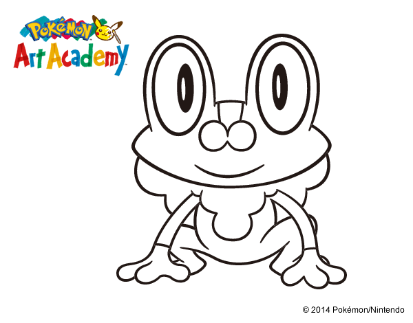Free coloring pages of how to draw frokie