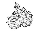 Dibujo de Fruta de la pasión para colorear