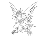 Dibujo de Garuda