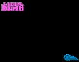 Dibujo de Gato - El extraordinario viaje de Lucius Dumb para colorear