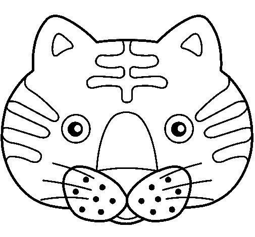 Dibujo de Gato II para Colorear