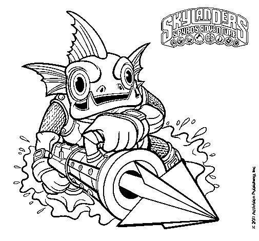 Dibujo de Gill Grunt para Colorear
