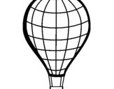 Dibujo de Globo aerostático para colorear