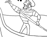 Dibujo de Gondolero para colorear