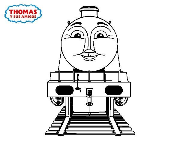 Dibujo de Gordon de Thomas y sus amigos para Colorear