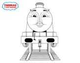Dibujo de Gordon de Thomas y sus amigos