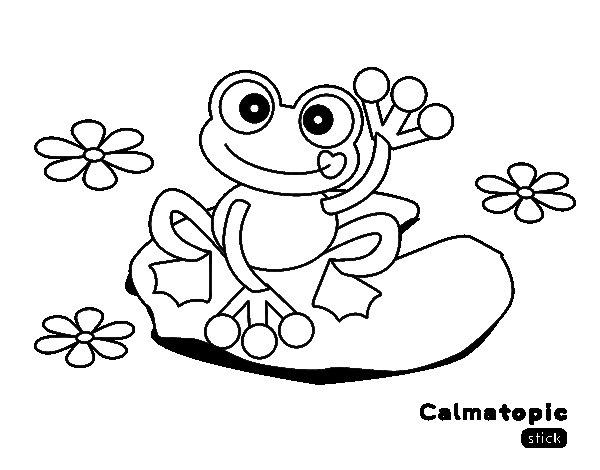 Dibujo de Hola Calmatopic para Colorear