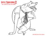 Dibujo de Hombre Lobo Wayne