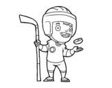 Dibujo de Hoquei sobre hielo