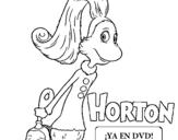 Dibujo de Horton - Sally O'Maley para colorear