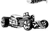 Dibujo de Hot Wheels 10 para colorear