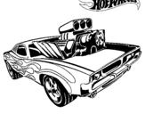 Dibujo de Hot Wheels 11 para colorear