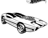 Dibujo de Hot Wheels 2 para colorear