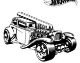 Dibujo de Hot Wheels 6 para colorear