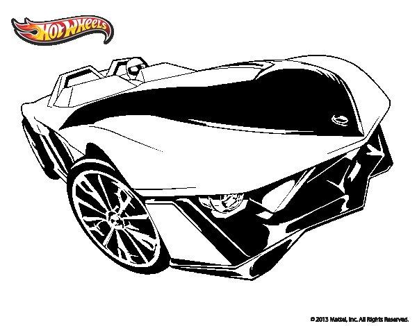 Dibujo De Hot Wheels Yur So Fast Para Colorear