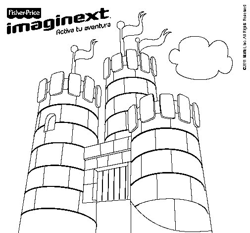 Dibujo de Imaginext 11 para Colorear
