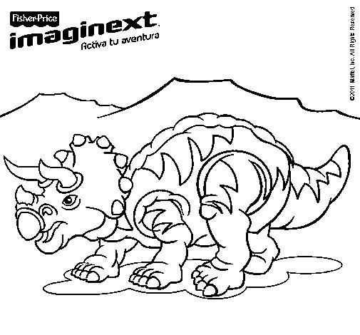 Dibujo de Imaginext 13 para Colorear