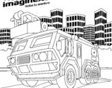 Dibujo de Imaginext 15 para colorear