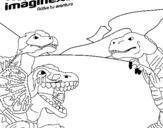 Dibujo de Imaginext 17
