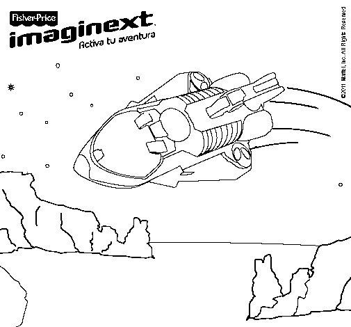 Dibujo de Imaginext 6 para Colorear