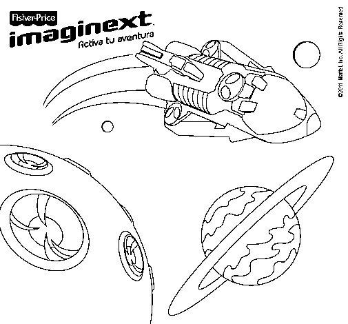 Dibujo de Imaginext 7 para Colorear