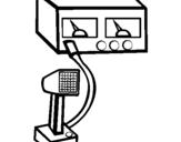 Dibujo de Intercomunicador para colorear