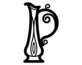 Dibujo de Jarra griega para colorear